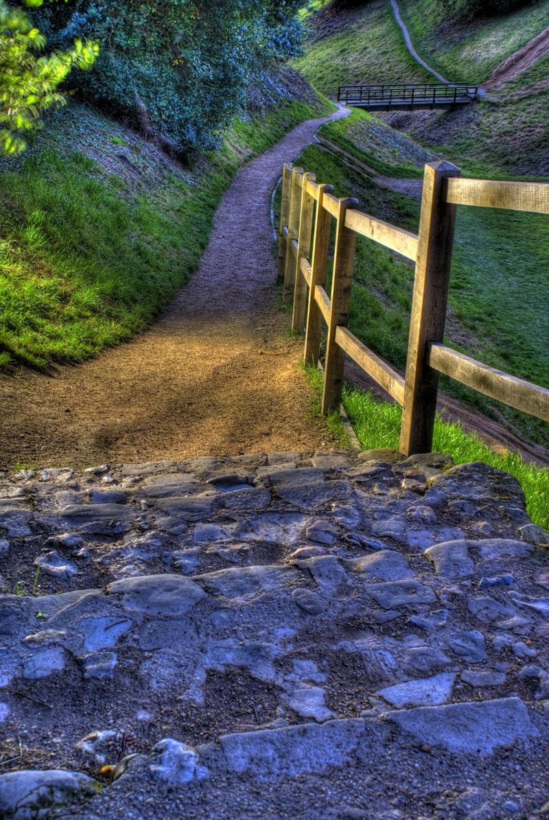 Ancient Foot Path, Suffolk, England