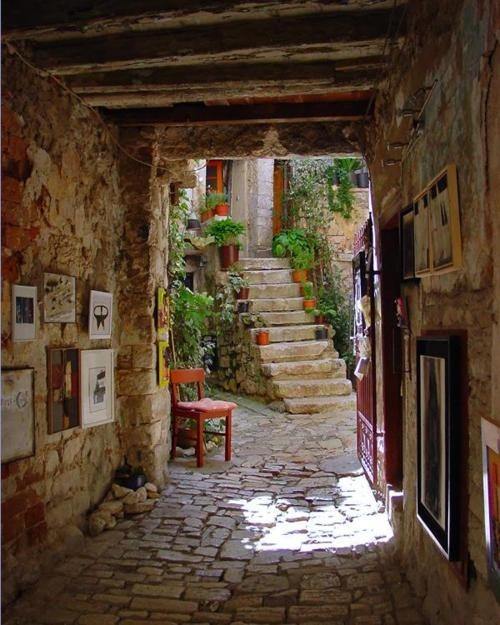 Restaurant Entry, Croatia
