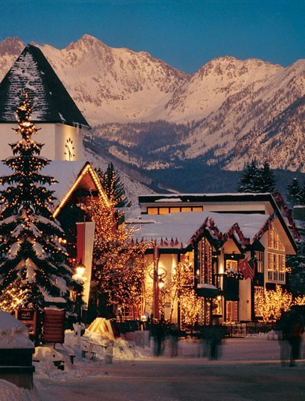 Holiday Lights, Vail, Colorado