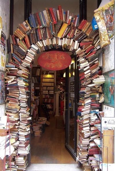 Book Store, Lyon, France