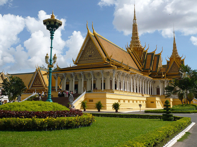 The Royal Palace in Phnom Penh, Cambodia, is a complex of buildings which serves as the royal residence of the king of Cambodia. The Kings of Cambodia have occupied...