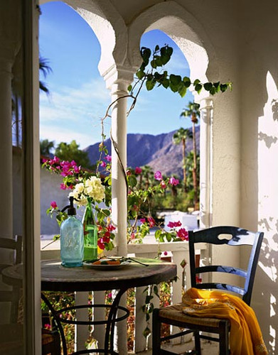 Breakfast Nook, Isle of Crete, Greece
