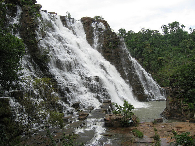 by abhisheksapre on Flickr.Tirathgarh Waterfalls situated in Kanger Valley National Park - state of Chhattisgarh, India.