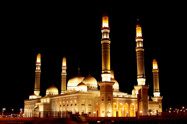 yby Retlaw Snellac on Flickr.Al-Saleh Mosque - Sana'a, Yemen.
