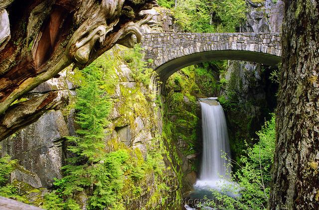 by Bob Noble Photography on Flickr.Christine Falls, Mount Rainier National Park - Washington, USA.