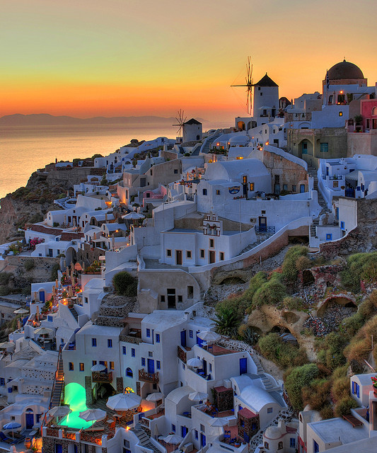 by MarcelGermain on Flickr.A beautiful summer story in Oia - Santorini Island, Greece.