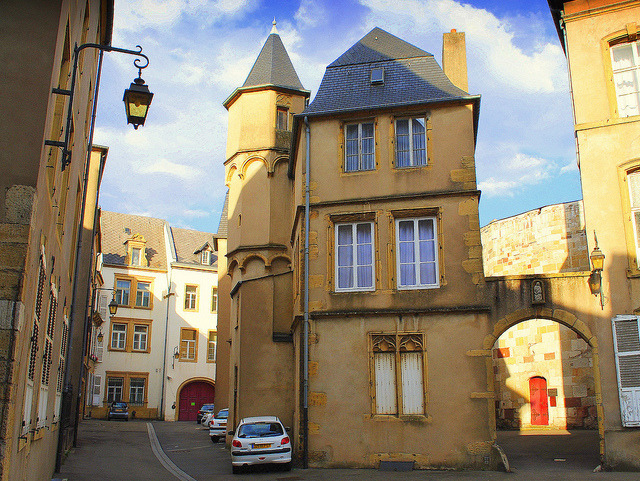 by mujepa on Flickr.In the old town of Thionville - Lorraine, France.