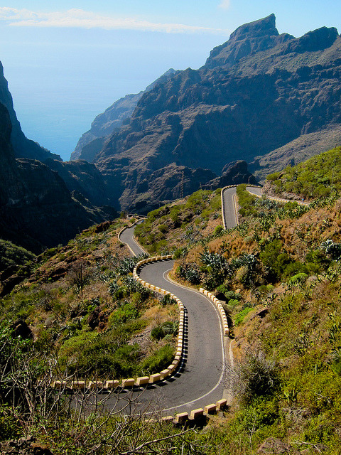 by Yodod on Flickr.Hairpins on the roads of Tenerife, Canary Islands, Spain.