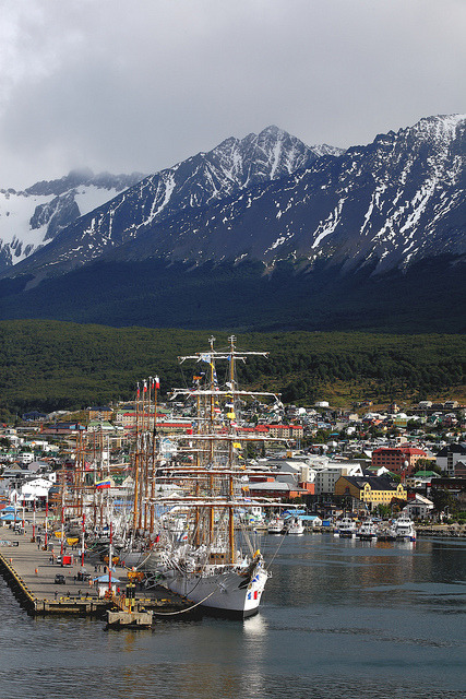 The southernmost town of the planet, Ushuaia, Argentina