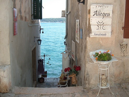 Steps to the Sea, Rovinj,  Croatia