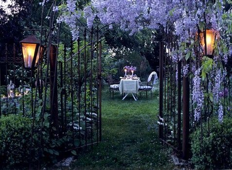 Wisteria Gate, Provence, France