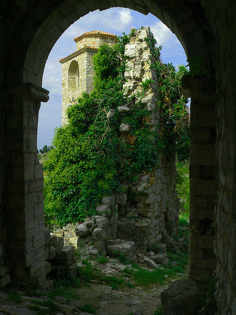 The Secret Garden in Stari Bar, Montenegro