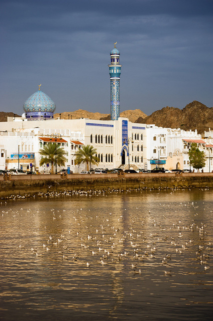 Waterfront of old Mutrah, Oman