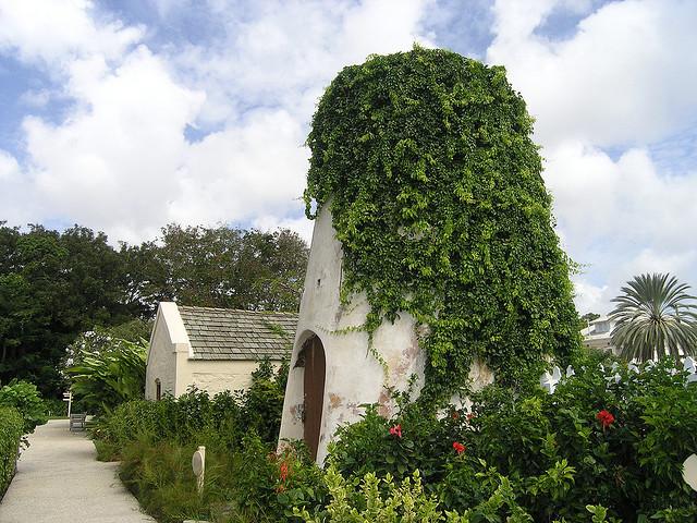 Ruins of water mill, George Washington House, Barbados