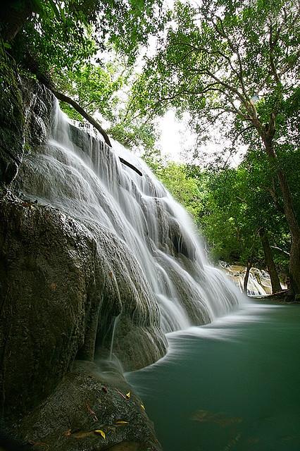 Kaangrian Falls near Burgos, Ilocos Norte, Philippines