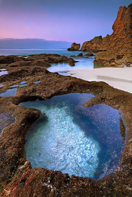 Uluwatu beach, Bali, Indonesia