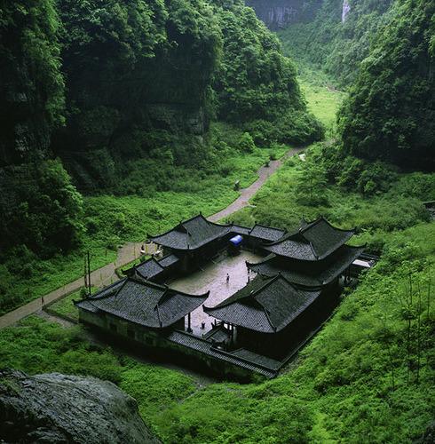 Mountain Spa, Chongqing, China