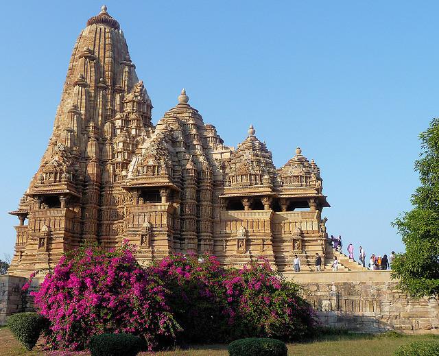 Kandariya-Mahadev Temple at Khajuraho, Madhya Pradesh, India
