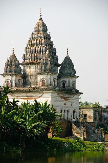 Shiva Temple in Puthia, Bangladesh