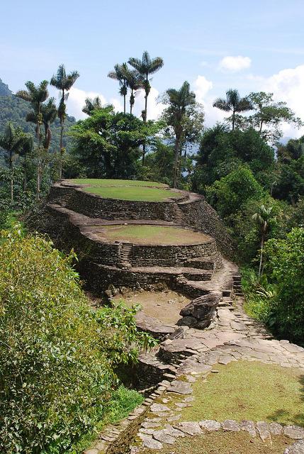La Ciudad Perdida , hidden in the jungle, north Colombia