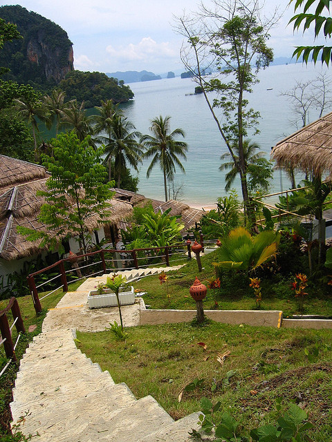 Small cozy resort on Koh Yao Island, Thailand