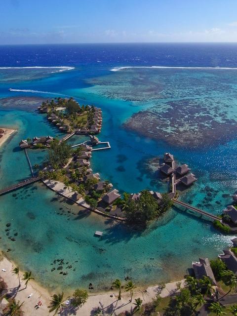 InterContinental Resort in Moorea Island, French Polynesia