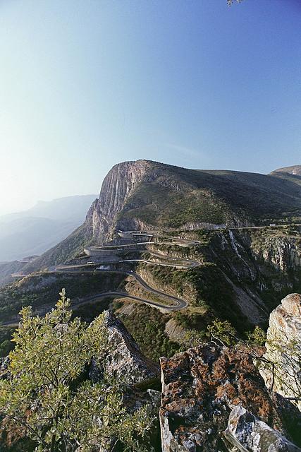 Mountain pass in Serra da Leba, Lubango, Angola