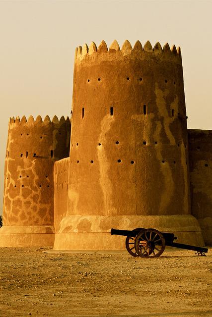Fort Zubarah in north-western Qatar