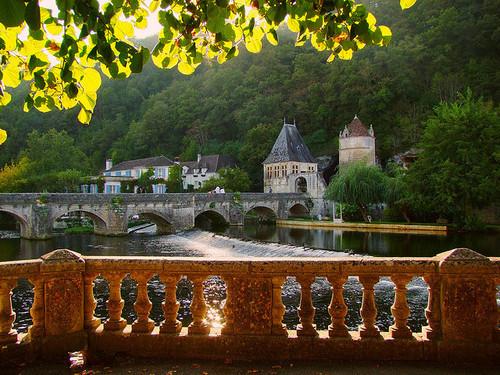 River Castle, Brantome, France