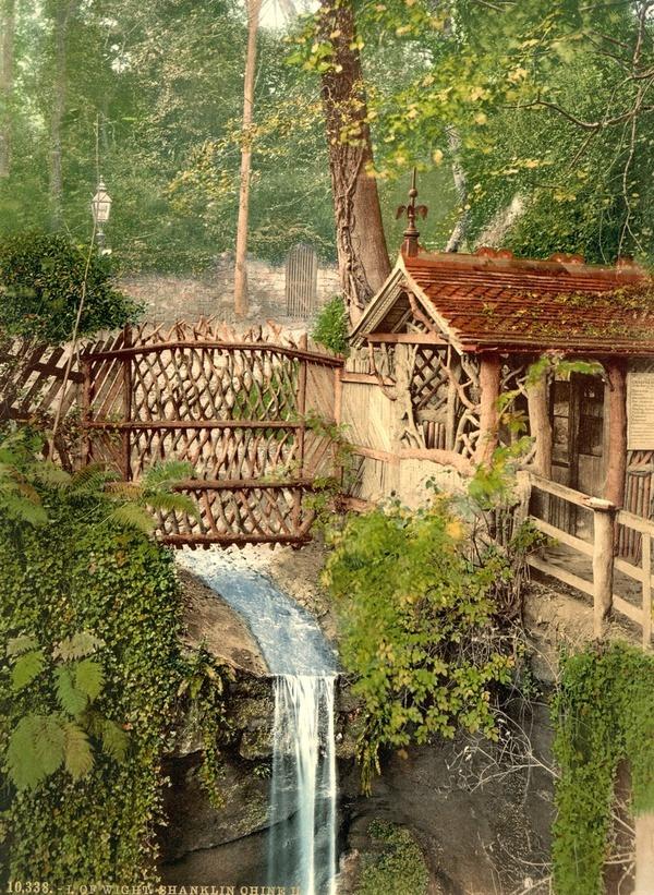Waterfall, Isle of Wight, England