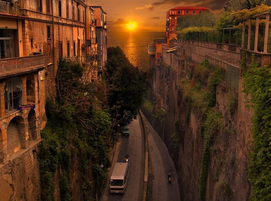 Sunset, Sorrento, Italy