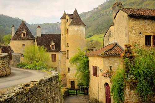 Medieval Village, Autoire, France
