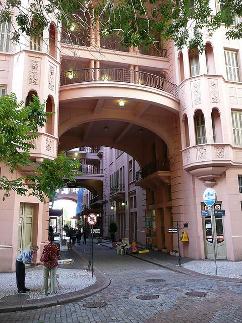 Nice architecture in Porto Alegre, Rio Grande do Sul, Brazil