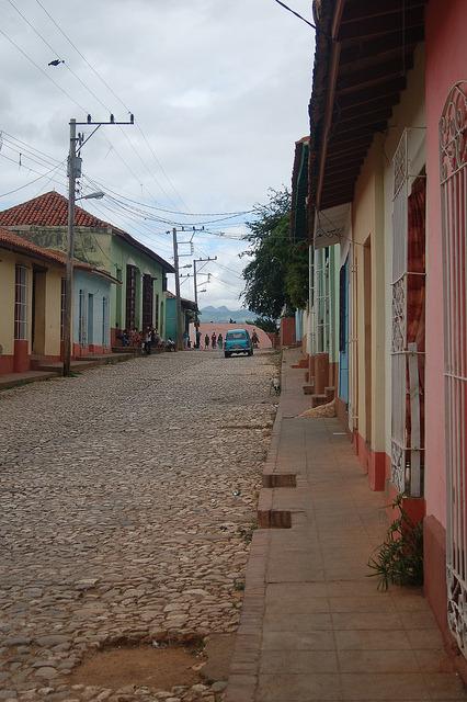 Colourful colonial streets in Trinidad, Cuba