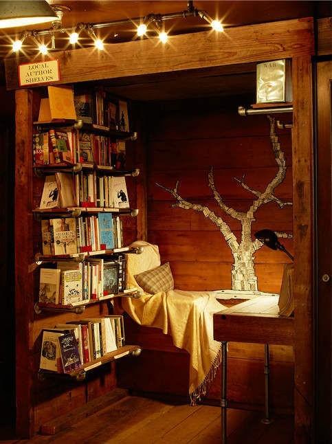 Reading Alcove, Bookstore, San Francisco, California