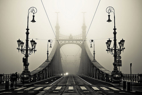 Foggy Day, Budapest, Hungary