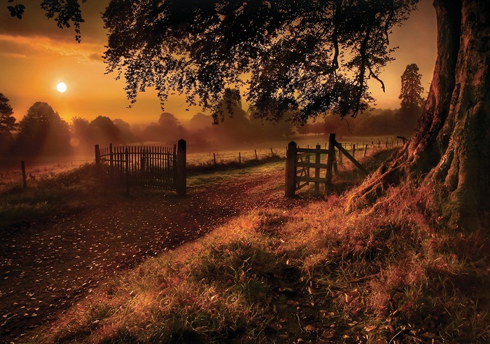 Sunrise, Derrymore, Northern Ireland