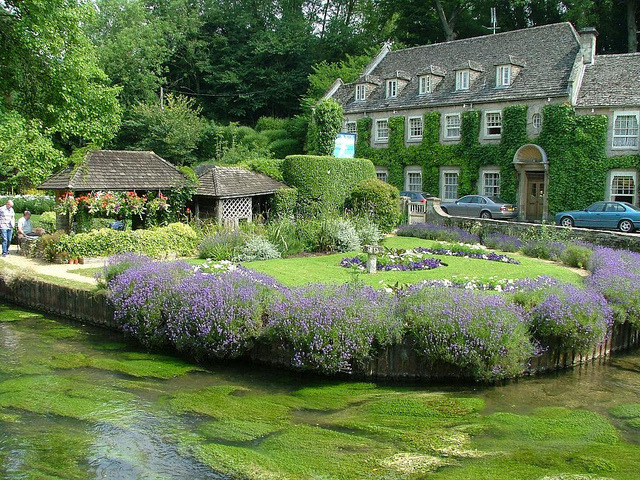 The Swan Hotel in Bibury, England