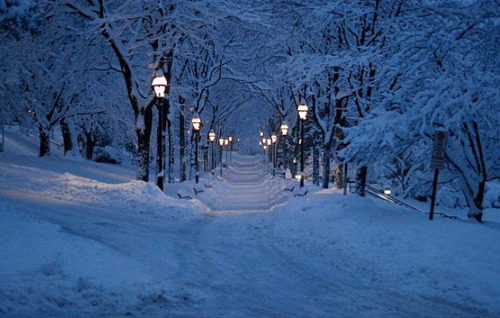 Snowy Night, Bethlehem, Pennsylvania