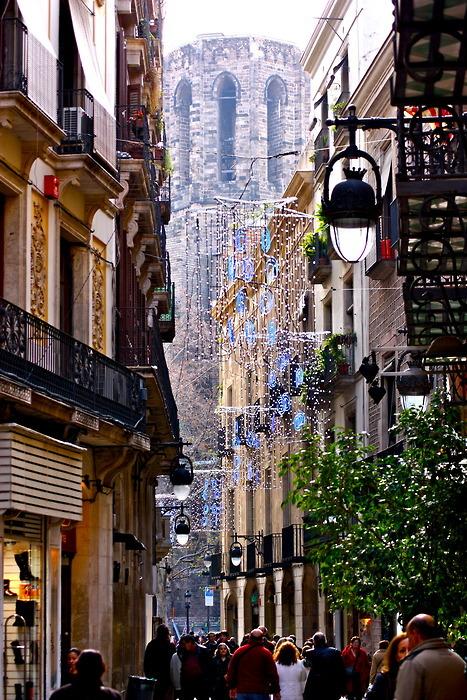Festive, Barcelona, Spain