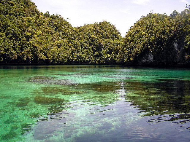 Sohoton Cove in Surigao del Norte, Philippines