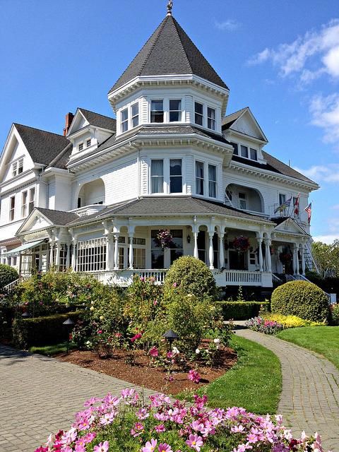 The Gatsby Mansion in Victoria, British Columbia, Canada