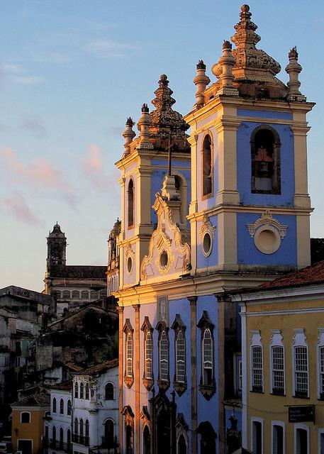Igreja de Nossa Senhora do Rosario dos Petros in Salvador, Brazil