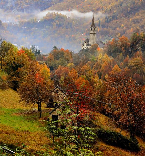 Colori di autunno, Baceno, Italia