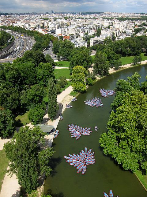 Lac Daumesnil in Bois de Vincennes Park, Paris, France