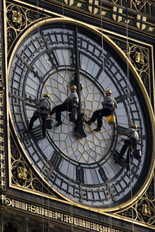 Stopping Time, Big Ben, London