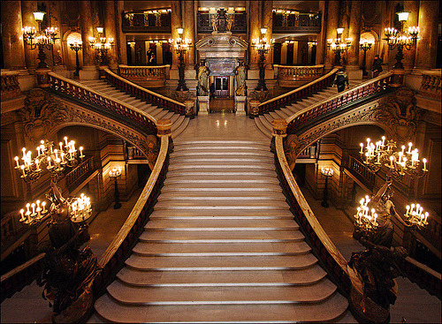 Stairway, Opera House, Paris