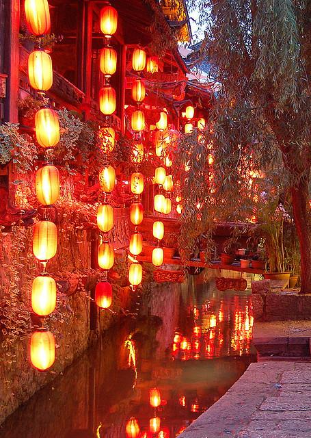 Lanterns, Lijiang, Yunnan, China