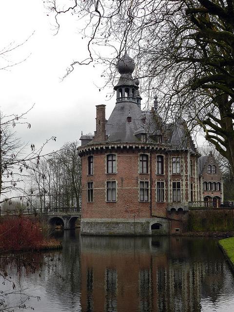Ooidonk Castle in Deinze, Belgium