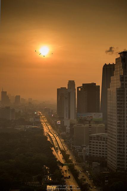 Morning Bangkok, Thailand